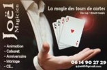 JOEL MAGICIEN: LA MAGIE DES TOURS DE CARTES, CLOSE-UP, STREET MAGIE